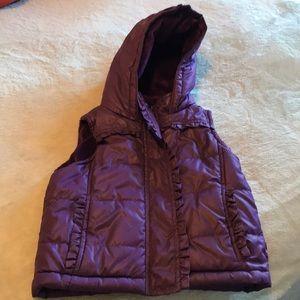 Girls weatherproof comfy vest